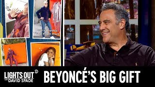 Beyoncé Has a Gift for Her Celebrity Friends (feat. Brad Garrett) - Lights Out with David Spade