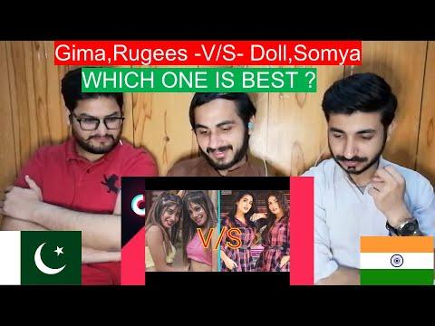 Pakistani Reaction On Bohot Hard Girls V/S Pikachu Girls|| Gima,Rugees -V/S- Doll,Somya ||