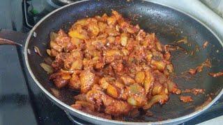요리타임~ 권대호 ' 돼지고기 김치볶음 ' 만들기