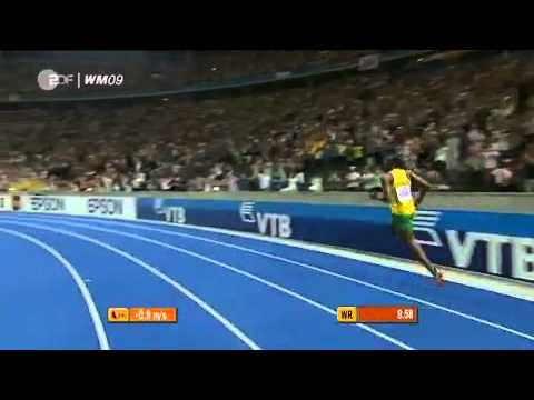 Usain Bolt 9.58 100m New World Record Berlin