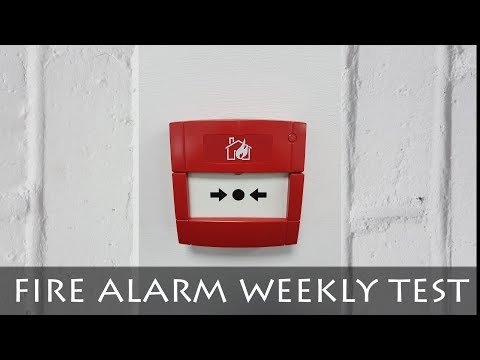 FIRE ALARM | WEEKLY TEST | DETAILED GUIDE
