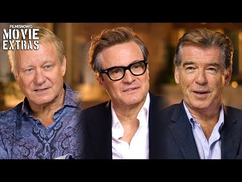 "MAMMA MIA! HERE WE GO AGAIN | On-set With Dads ""Pierce Brosnan, Stellan Skarsgård & Colin Firth"""