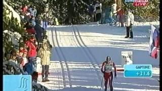 2001 WSC Lahti Rel 4x5 km M RUSSIA NORWAY ITALY