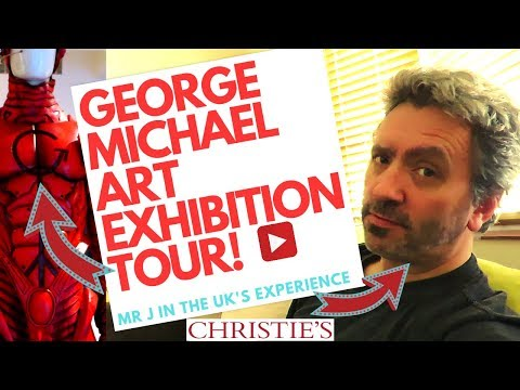 George Michael Art Collection Exhibition at Christie's in London - Part One Mp3