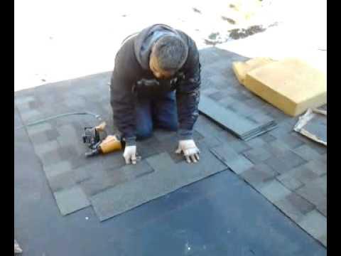 Alberto instalando shingles youtube - Como se pone el parquet ...