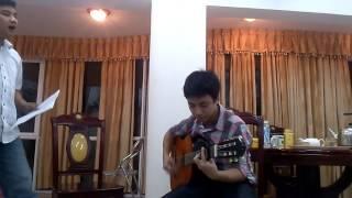 Chờ người nơi ấy   guitar đệm hát