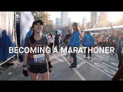 Becoming a Marathoner