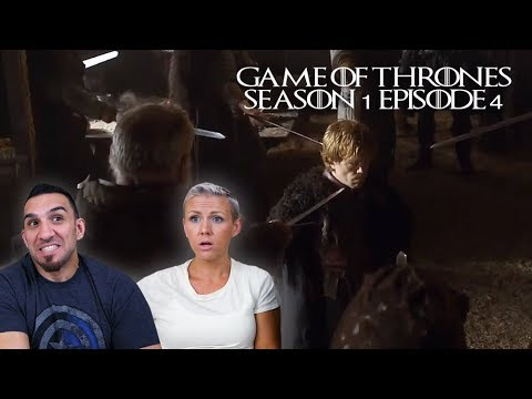 Game Of Thrones Season 1 Episode 4 'Cripples, Bastards, And Broken Things' REACTION!!