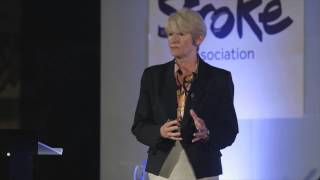 Professor Dame Nancy Rothwell at Science Stroke Art 2014 Thumbnail