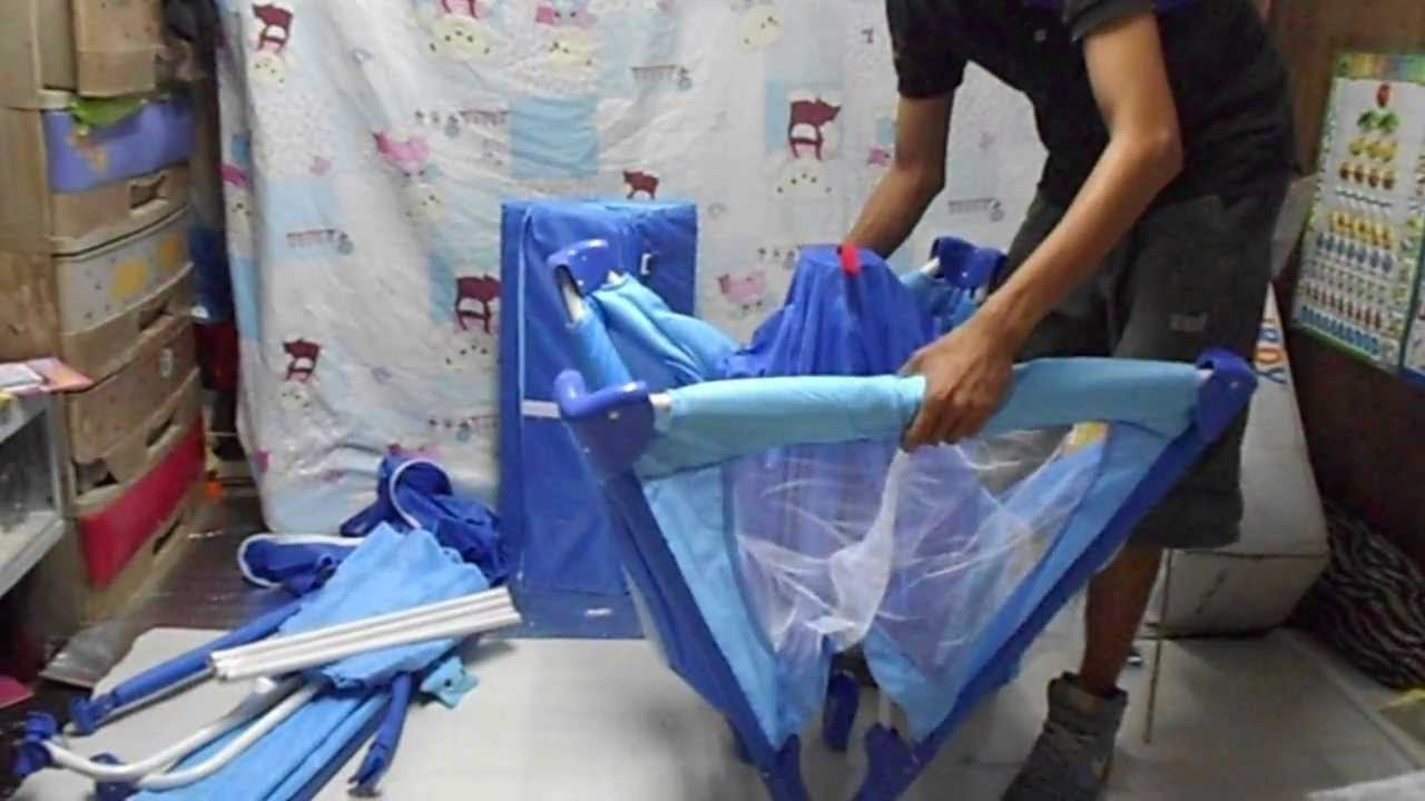 How To Assemble A Playpen Crib Part 1 Youtube