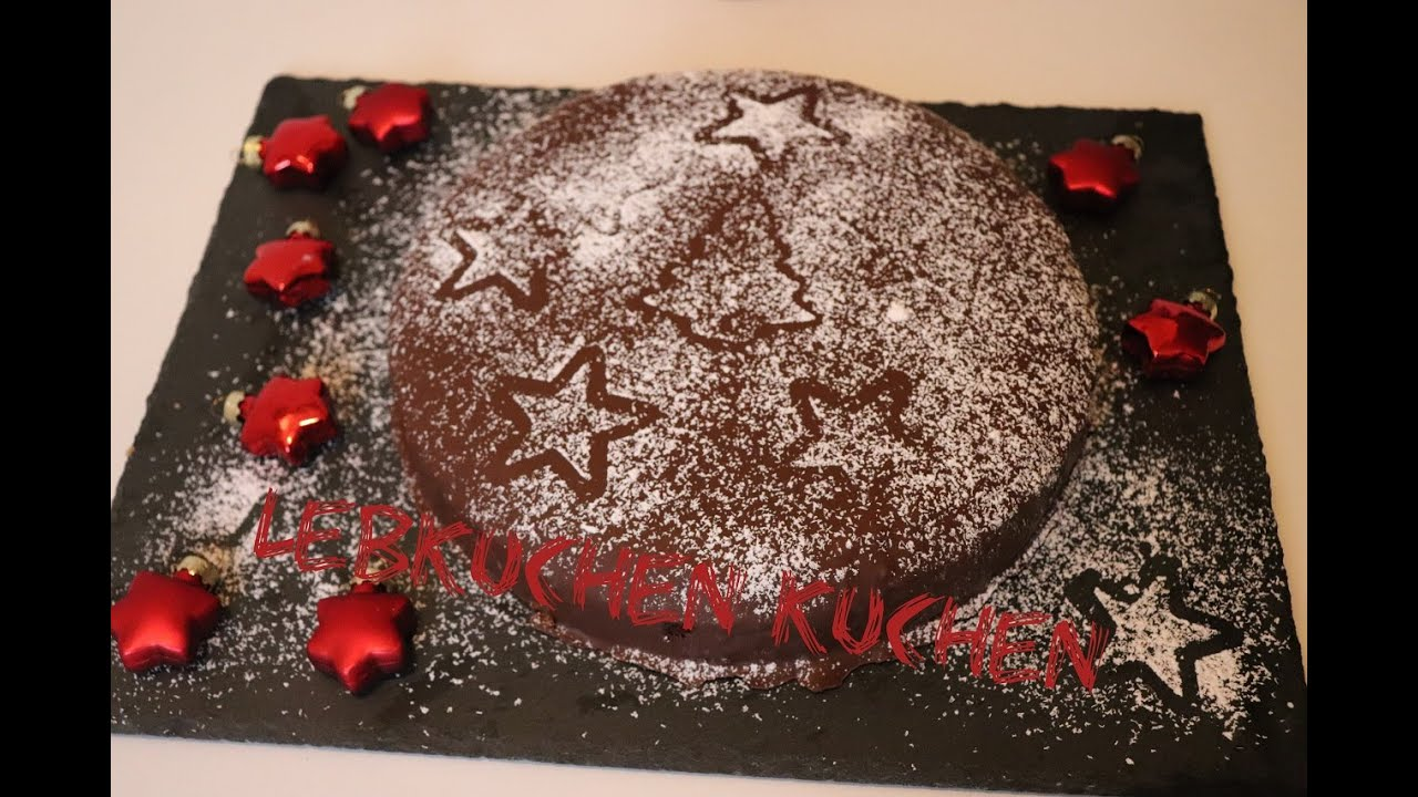 Lebkuchen Kuchen Youtube