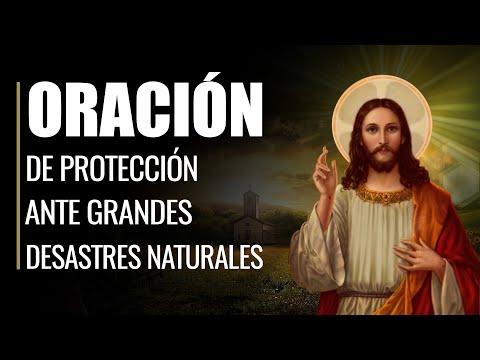 🙏 Oración de Protección ante GRANDES DESASTRES NATURALES 🌪