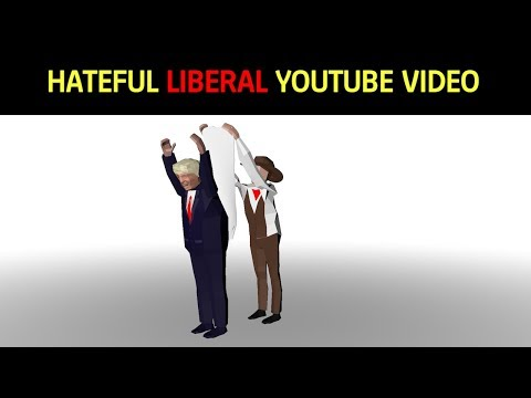 HATEFUL Liberal YouTube Video Depicts President Trump Receiving A Wedgie From A Cowboy