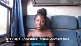 Euro-Vlog #1: Amsterdam to Prague Train