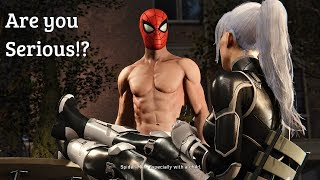 Spider-Man PS4 - Spiderman Tells MJ He Dated Black Cat & They May Have Baby (The Heist DLC) PS4 Pro