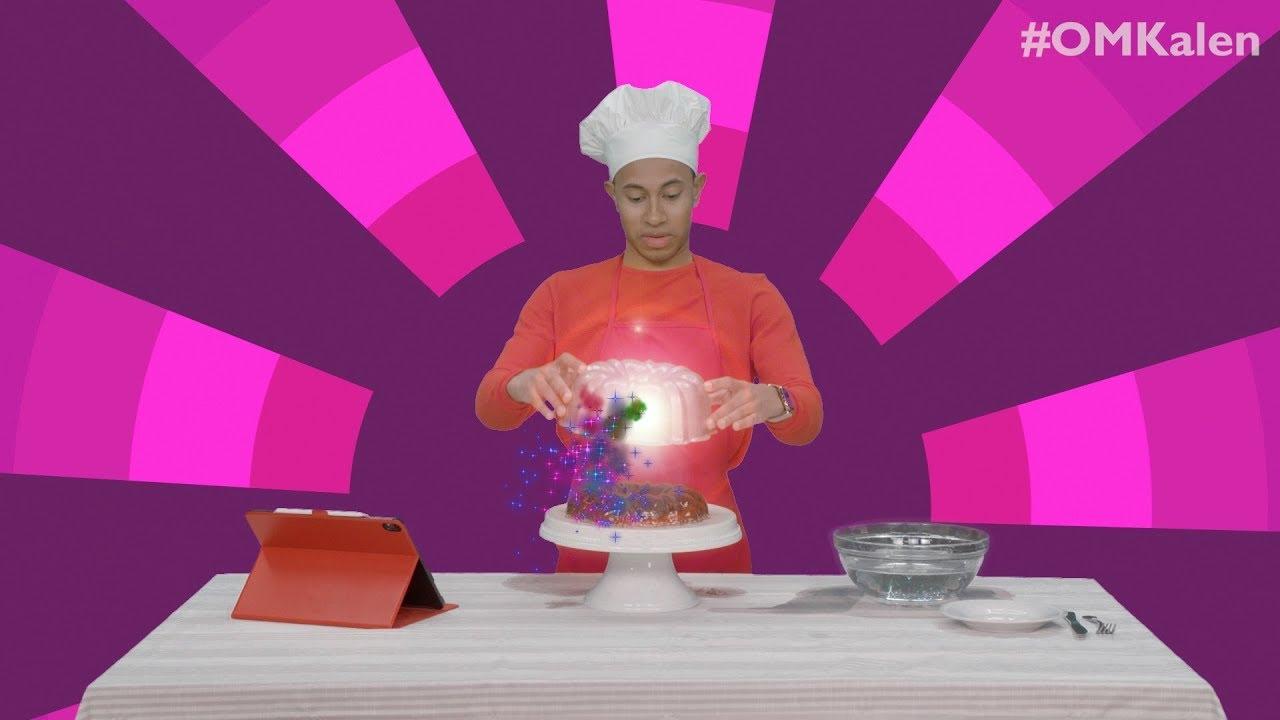 'OMKalen': Kalen Reacts to Microwave Chicken, and Prepares a Cola Salad Cake