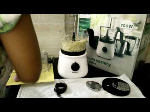 Philips Food Processor HL1660 - Slicing, Shredding, Chopping Review by Happy Pumpkins