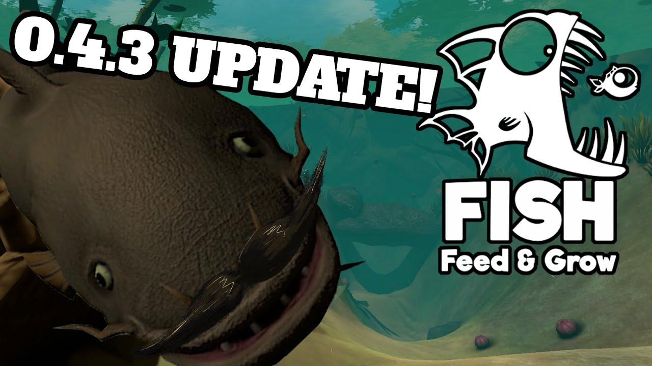 Catfish and new map feed and grow fish 0 4 3 now on for Fish eat and grow