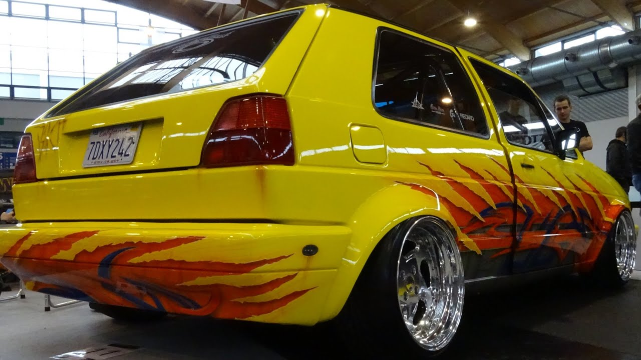 Most Expensive Vehicles >> VW Golf2 Tuning World Bodensee 2015 - YouTube