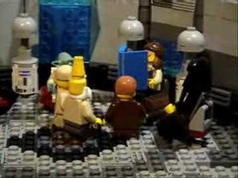 """The Saga Begins"" by Weird Al -  Lego Music Video (original)"