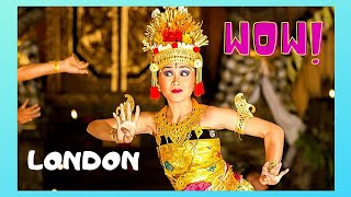 london indonesian exotic dancing and a wonderful festival