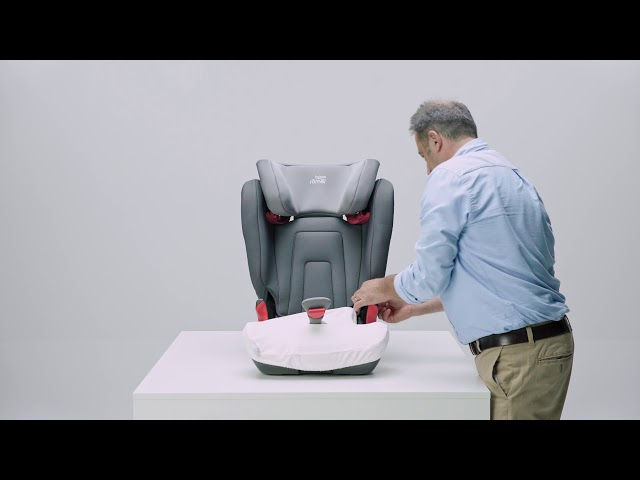 Jak sundat potah z autosedačky KIDFIX 2 S| Britax Römer CZ & SK