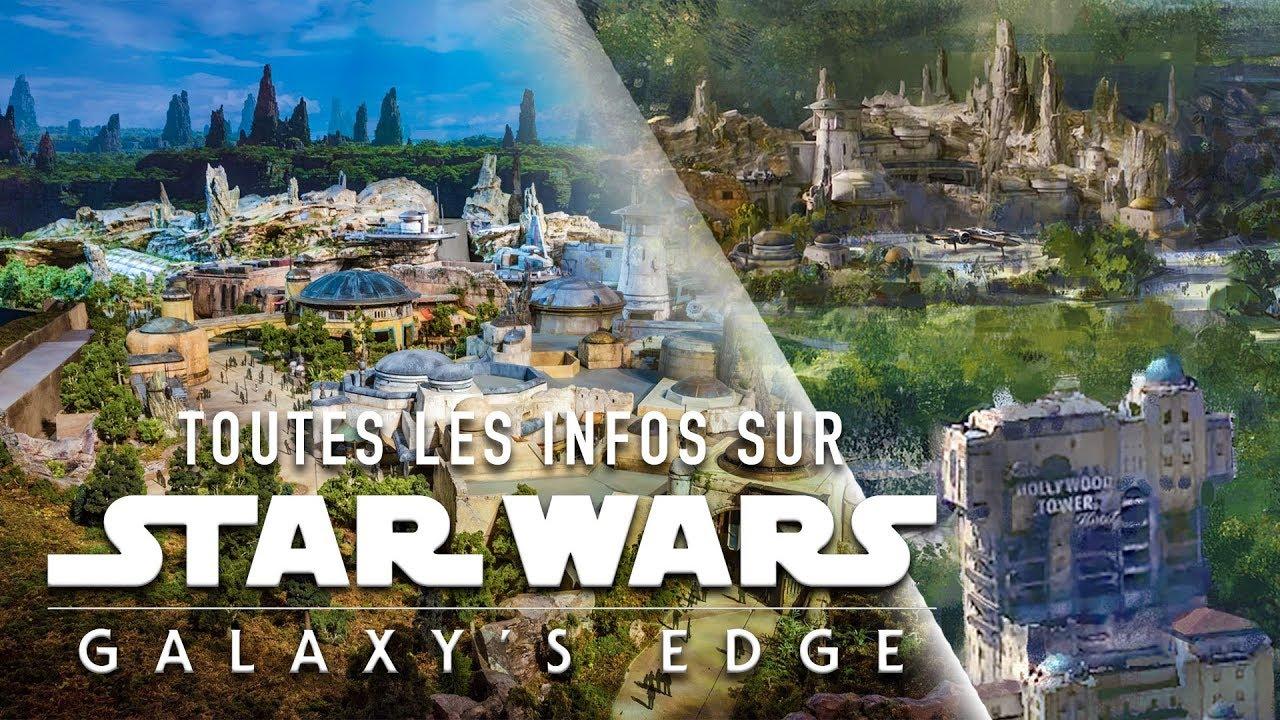 APERÇU DE STAR WARS LAND À DISNEYLAND PARIS !