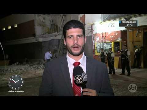 Polícia mata três suspeitos de participação no maior assalto do Paraguai - SBT Notícias (25/04/17)