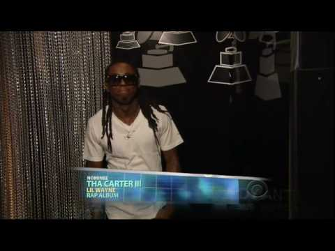 2009 GRAMMY Awards - Lil Wayne Wins Best Rap Album