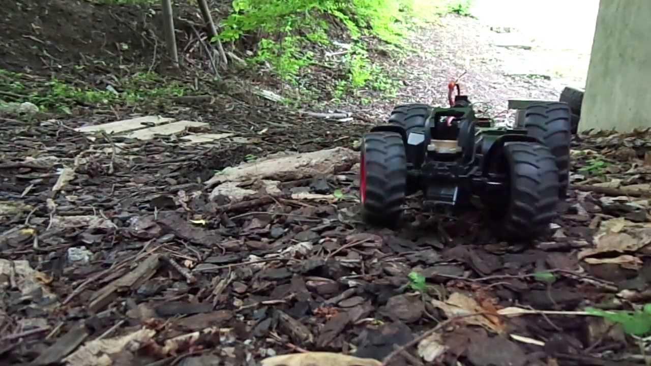 rc bruder traktor crawler umbau testfahrt 1  youtube