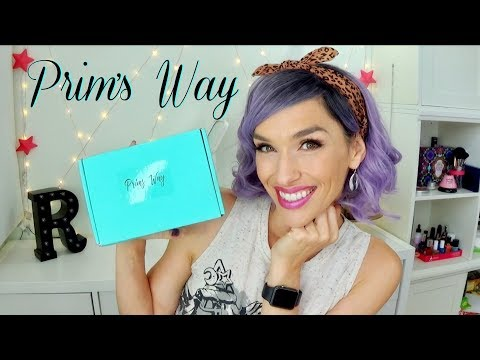 Prim's Way September 2017 Unboxing | Jewelry and Lifestyle Box