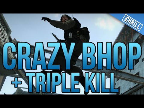 Crazy Bhop Plus Triple Kill | 64tick MM | Counter Strike Global Offensive