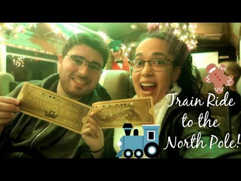 🚂Train Ride | The Polar Express🎄!