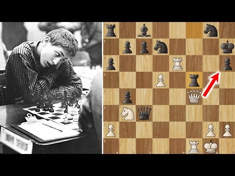 Bobby Fischer Helpless against the Magician from Riga