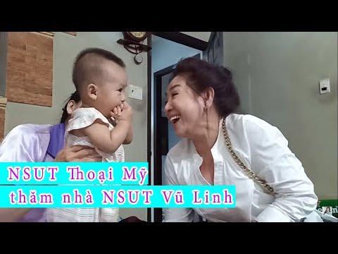 NSUT Thoại Mỹ đến thăm nhà NSUT Vũ Linh và đùa giỡn cùng RuBy