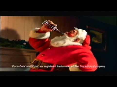 Coke Christmas Ads.Coca Cola Christmas Advert Old