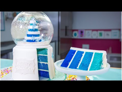 Snow Globe made of CAKE & More Winter Baking Ideas | How To Cake It Step By Step