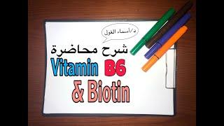 vitamin B6 & biotin