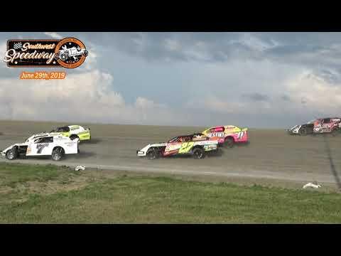 Southwest Speedway IMCA Sport Mod Heats (6/29/19)