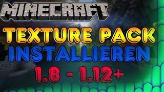 Minecraft Texture Pack installieren 1.12.2 - 1.8 - Windows 10/8/7 und Mac - 2018/Deutsch