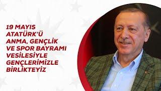 19 Mayıs Atatürk'ü Anma, Gençlik ve Spor Bayramı vesilesiyle gençlerimizle birlikteyiz.