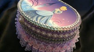 Altered Princess Jewelry Box