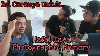 (PART 3/3) CARA HAFAL PALING CEPAT ALA PHOTOGRAPHIC MEMORY