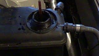 BMW 5 SERIES E60  Про антифриз и как и сколько заливать. Как измерить градус антифриза.