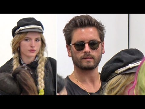 Scott Disick Looking So Happy With 'Girlfriend' Bella Thorne Heading To Europe Together