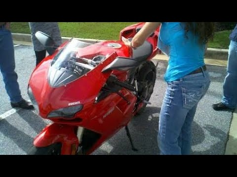 OMG Ducati Rider Ask For Money To People || Public Reaction
