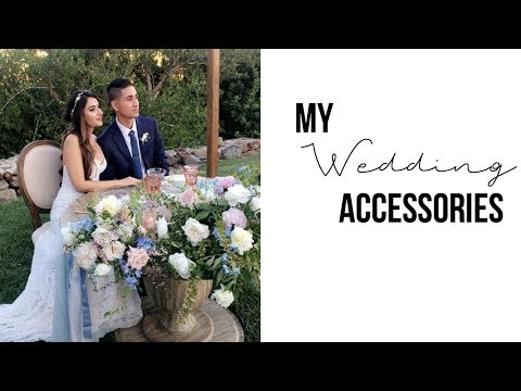 My wedding accessories/decor + I bought a 2nd dress?!!|| Episode 7