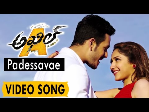 Padessavae Video Song || Akhil Movie Video Songs || Akhil Akkineni, Sayesha