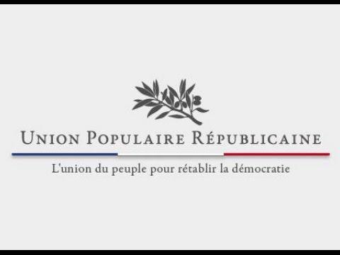 UPR - François Asselineau - Immigration, Energie, Dette Publique ( débat national )