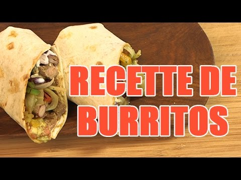 recette mexicaine rapide les burritos boeufs tex mex youtube. Black Bedroom Furniture Sets. Home Design Ideas